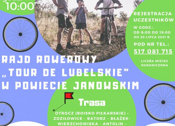 "Rajd rowerowy ""Tour De Lubelskie"""